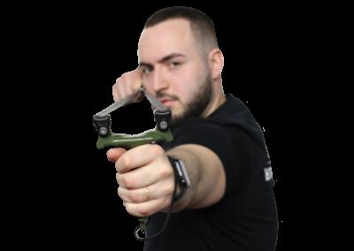 Стрельба из рогатки